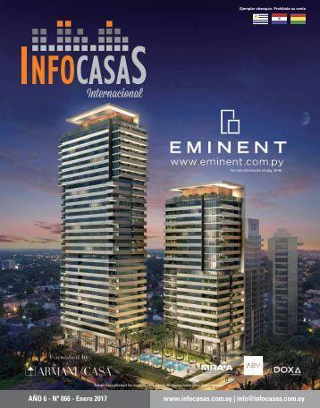 Revista InfoCasas Internacional Enero 2017