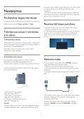 Philips 5000 series Téléviseur LED plat Full HD - Mode d'emploi - LIT - Page 6