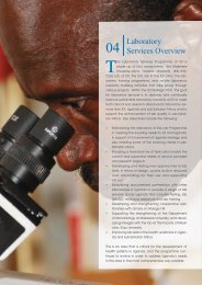 Laboratory Services Overview - Infectious Diseases Institute