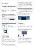 Philips 6000 series Téléviseur LED plat UHD 4K avec Android™ - Mode d'emploi - TUR - Page 6