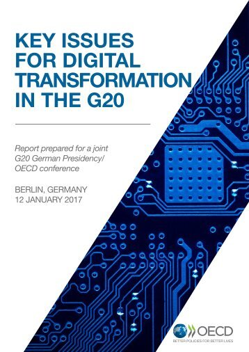 KEY ISSUES FOR DIGITAL TRANSFORMATION IN THE G20