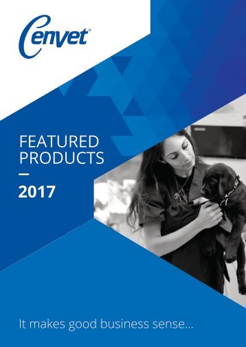 Cenvet - Featured Products 2016