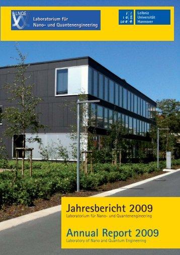 2009 - LNQE - Leibniz Universität Hannover