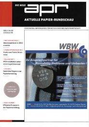 Umsatzwachstum in 2012 - Coburger & Bergische Kartonagenfabriken