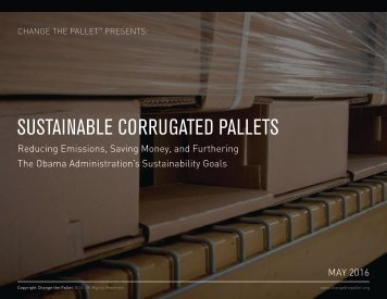 SUSTAINABLE CORRUGATED PALLETS