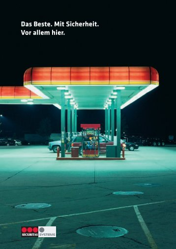 Tankstellensicherheit. Mit Brief und Siegel.