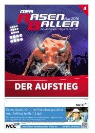 Der RASENBALLER Nr. 4 | Das Aufsteiger-Magazin der LVZ