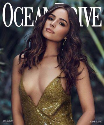 Ocean Drive - 2017 - Issue 1 - January - Olivia Culpo