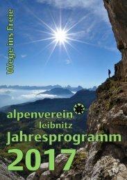 ÖAV Leibnitz Jahrprogramm 2017