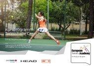 Kursprogramm Tennishalle Grenchen