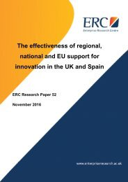 innovation in the UK and Spain
