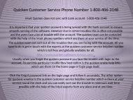 Quicken software support Number 1-800-406-3148