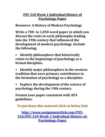 history of psychology 310 1/6/10 1 history of cognitive psychology what is cognitive psychology • field of psychology • examines the processes that manipulate.