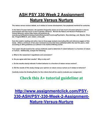 nature vs nurture a biblical perspective Is sexuality nature or nurture update cancel answer wiki 29 answers read the bible and be wise unto eternal life originally answered: what proportion of sexual orientation seems to be determined by nature versus nurture.