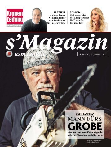 s'Magazin usm Ländle, 15. Jänner 2017