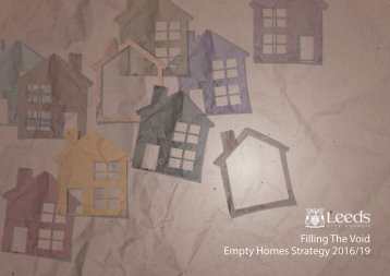 Filling The Void Empty Homes Strategy 2016/19