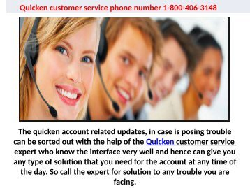 Who is the Best Free Quicken Service Provider? 1-844-894-7054