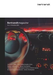 No. 4 • November 2004 Ford Focus C-MAX – From ... - Bertrandt