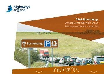 A303 Stonehenge Amesbury to Berwick Down