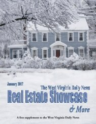 The West Virginia Daily News Real Estate Showcase & More - January 2017