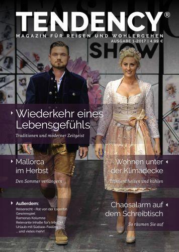 TENDENCY® Ausgabe 1/2017  - Leseprobe