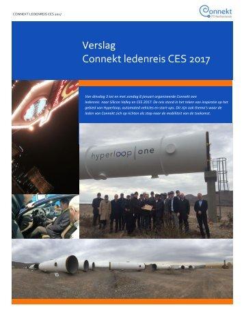 Verslag Connekt ledenreis CES 2017