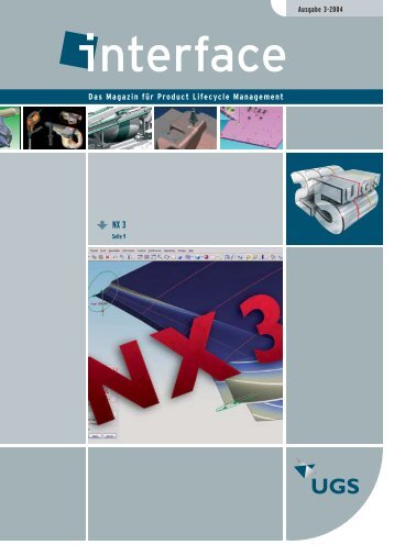 NX 3 - Siemens PLM Software