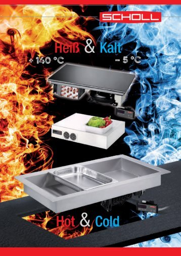 Kalt-Warm-Platten + Wannen Hot-or-cold plates + wells