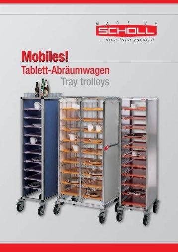 Mobiles 2014 Tablettwagen