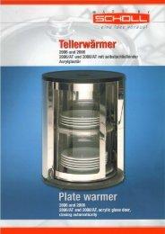 Tellerwärmer Plate warmer 2006_2008