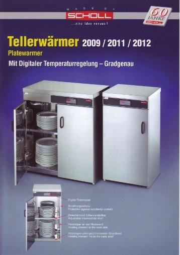 Tellerwärmer Plate warmer 2009-2011