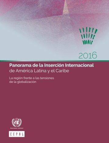Panorama de la Inserción Internacional de América Latina y el Caribe 2016