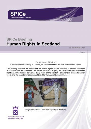 Human Rights in Scotland