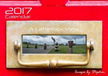 2017 Calendar A Letterbox View