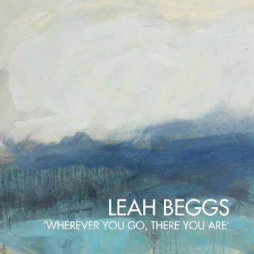 Leah Beggs exhibition catalogue V6