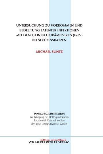 Untersuchung zu Vorkommen und Bedeutung latenter Infektionen ...