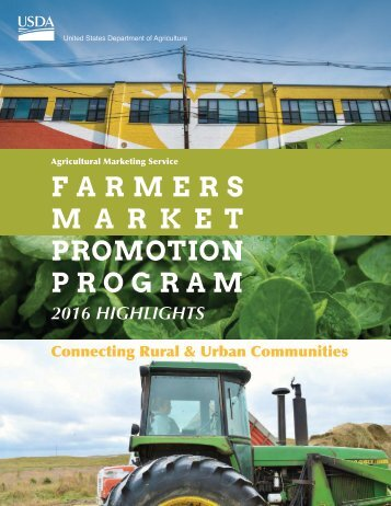 FARMERS M A R K E T PROMOTION PROGRAM