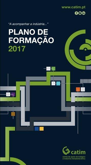 CATIM - PLANO FORMAÇÃO 2017.Ver.0