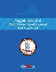 Virginia Board of Workforce Development