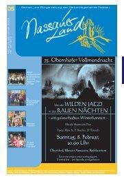 Mitteilungsblatt Ausgabe 5 - 2009 - Verbandsgemeinde Nassau
