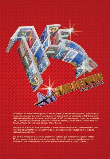 millenium 2016 - catalogo