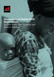 Innovations in Mobile Birth Registration