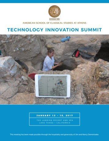 TECHNOLOGY INNOVATION SUMMIT