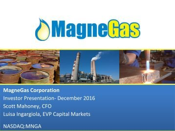 MNGA+Investor+Presentation+December+2016+-Final