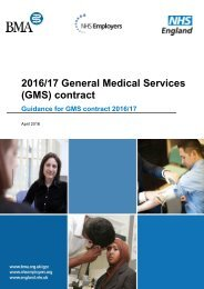 2016/17 General Medical Services (GMS) contract