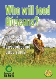 Who will feed Africans?