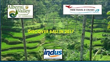 DISCOVER BALI IN 2017