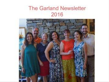 2016 Garland newsletter