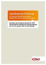 Saarländische Erklärung