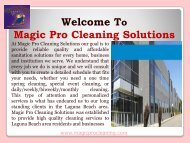 Carpet Cleaners Laguna Beach| Magic Pro Cleaning Solutions